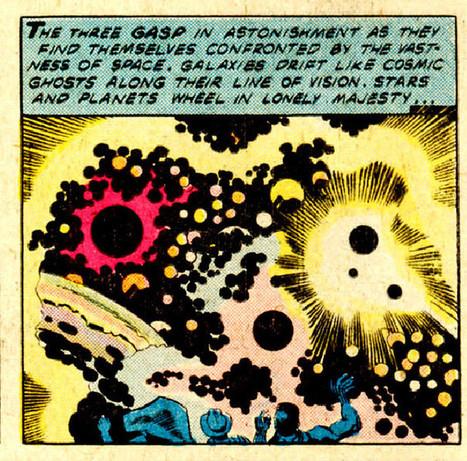 "70s Sci-Fi Art: madddscience: Jack Kirby | Jack ""King"" Kirby | Scoop.it"