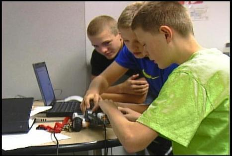 4-H robotics program gets Kimball kids engaged in technology | Coding for Kids | Scoop.it
