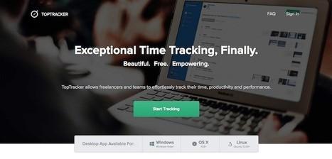 TopTracker, excelente herramienta gratuita para que freelancers y equipos gestionen su tiempo | Educacion, ecologia y TIC | Scoop.it