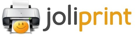 Save web articles as PDF for reading later: Joliprint | Formation et partage | Scoop.it