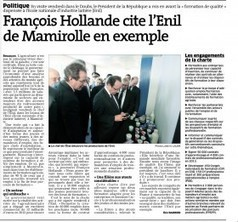 Le président de la république visite l'ENIL, école nationale d'industrie laitière, des analyses et de l'eau | Les news concernant l'ENIL, fromagerie, agroalimentaire, eau... | Scoop.it