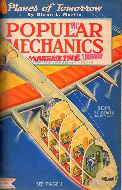 Airplanes of the Future (1942)   Outbreaks of Futurity   Scoop.it