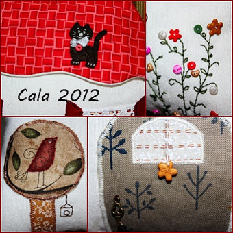 *Caprichos de Calabacina*: Mi casita de patchwork | Molt Patchwork | Scoop.it