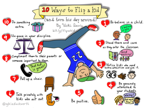 10 Ways to Flip a Kid and Turn Their Day Around | Cool School Ideas | Scoop.it