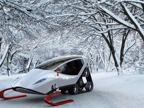 Poate veni o noua era glaciara daca ai un snow crawler | Tehnologie | Scoop.it