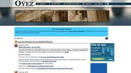 Oyez Project: El Trabajo de la Corte Suprema de los Estados Unidos a disposición de los ciudadanos | Periodismo Ciudadano | Periodismo Ciudadano | Scoop.it