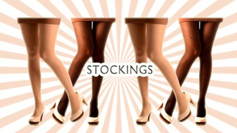 Stockings for girls glamor-fied! | citrusox | Scoop.it