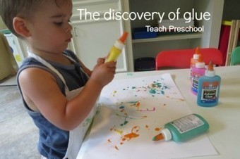The discovery of glue | Teach Preschool | Scoop.it