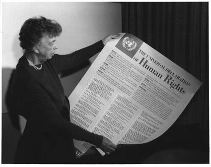 OurPresidents: #EleanorRoosevelt & Universal Declaration of Human Rights | Southmoore AP United States History | Scoop.it
