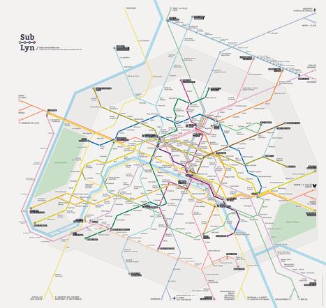Sublyn : un plan de métro léger et rapide d'accès réalisé en HTML5 | TICE & FLE | Scoop.it