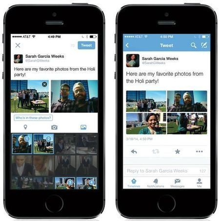 Twitter now lets you add up to four images to tweets, introduces tagging | xposing world of Photography & Design | Scoop.it