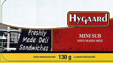 Hygaard sandwiches recalled over listeria - Health - CBC News   Food issues   Scoop.it