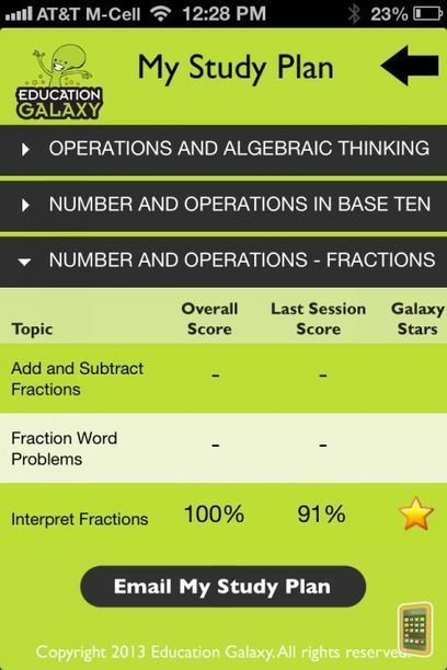 5th Grade Math Common Core - Fractions, Division, Multiplication, Geometry, Decimals and More for iPhone - App Info & Stats | iOSnoops | Common Core Math ideas | Scoop.it