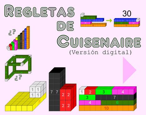 didactmaticprimaria: Regletas de Cuisenaire. Versión digital. | DidácTICa_MatemáTICas. Revista Digital | Scoop.it