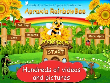Apraxia RainbowBee App | Speech and Language Therapy Apps | Scoop.it