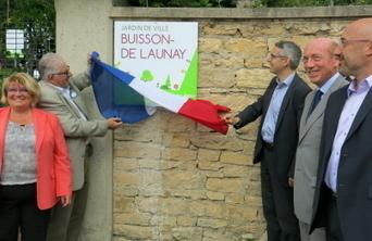 Le jardin de ville Buisson-De Launay inauguré | Revue de presse Joelle Huillier | Scoop.it