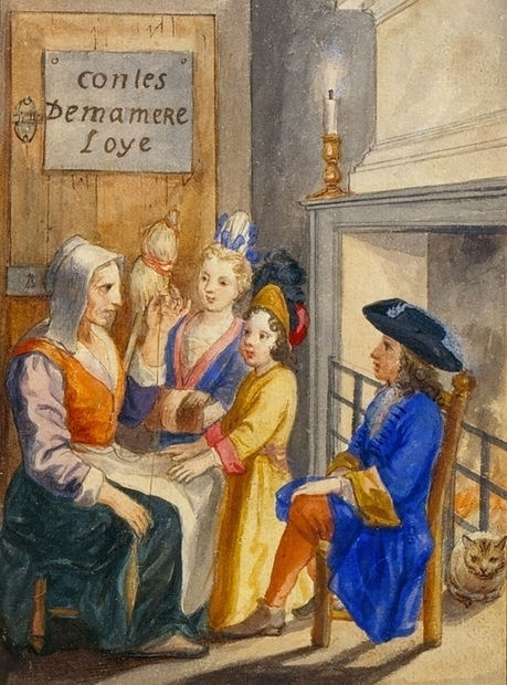 Mother Goose's French Birth (1697) and British Afterlife (1729) | The Public Domain Review | Arobase - Le Système Ecriture | Scoop.it