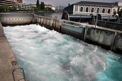 Le Rhône, enjeu caché de la visite de Hollande en Suisse | Chronique d'un pays où il ne se passe rien... ou presque ! | Scoop.it