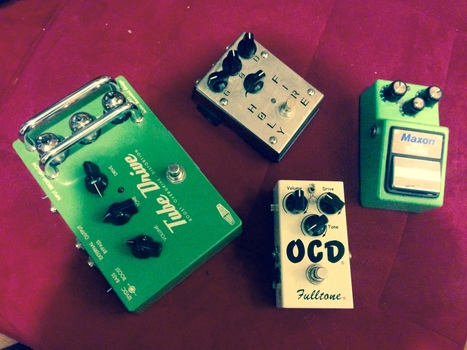 How to Get a Fatter Guitar Sound with Cascading Overdrive | Music Production | Scoop.it
