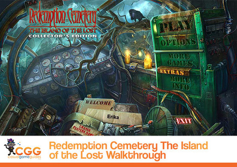 Redemption Cemetery: The Island of the Lost Walkthrough: From CasualGameGuides.com | Casual Game Walkthroughs | Scoop.it