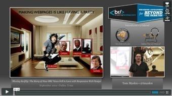 Le début d'une histoire d'amour entre la BBC et le Responsive Web Design   La Revue Webmarketing   Scoop.it