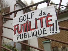 Futilité publique. Le tribunal administratif annule la déclaration d'utilité publique du golf de la Sommeraupublique le golf public de la Sommerau | Ambiante | Scoop.it