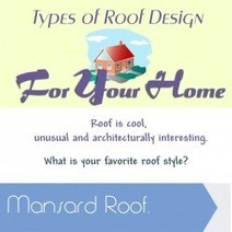 Types of Roof Design For Your Home | Visual.ly | Roofing Infographics | Scoop.it