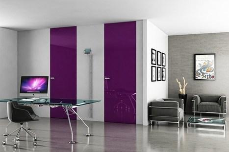 Puerta integrada en la pared ABSOLUTE SWING by Ermetika | diseño Ermetika Srl | Interior design for your home | Scoop.it