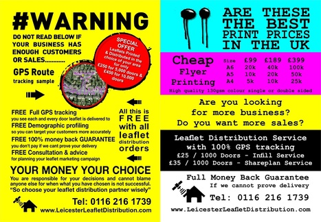 10 Leaflet Distribution Scams to Avoid! | Leicester Leaflet Distribution | cheap flyer printing and leaflet distribution in leicester | Scoop.it
