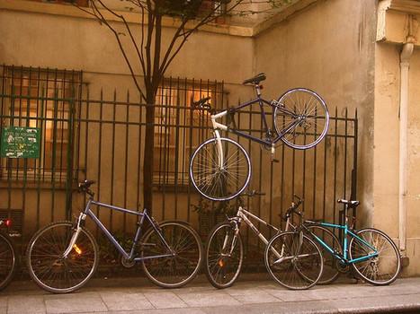 L'épineux problème du stationnement vélo en ville | RoBot cyclotourisme | Scoop.it