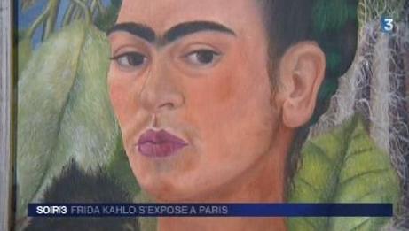 VIDEO. Frida Kahlo s'expose à Paris - Francetv info   Espagnol: Langue et cultures   Scoop.it
