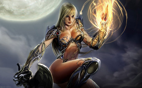 Seven Fantasy Art Girls | Brian's Science and Technology | Scoop.it