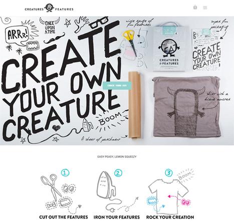 Flat Websites Design – 27 New Examples #WebDesign | Online World | Scoop.it