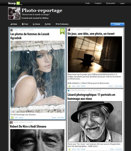 Scoop.it, l'expression par la curation [Tribune libre N°24 ... | Curation & Co | Scoop.it
