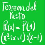 Teorema del Resto Ejercicio - La Profe de Matemática   Teoremas matemáticos   Scoop.it