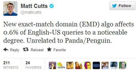 Matt Cutts Just Announced A Google #Algorithm Change | Technical & Social News | Scoop.it