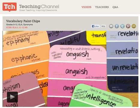 Common Core: Paint Chips Vocabulary Strategy | ... | Common Core and Teacher Leadership | Scoop.it