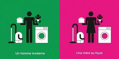 Un homme moderne et une mère au foyer: cliché illustré (déclencheur) | T7 - Faits de société, actualité, tendances | Scoop.it