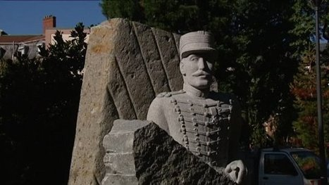 La statue du capitaine Dreyfus installée à Mulhouse, sa ville d'origine - France 3 Alsace | Alsace Actu | Scoop.it