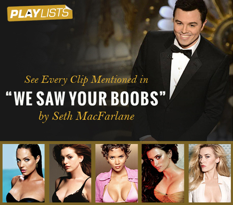 """We Saw Your Boobs"" – Seth MacFarlane 