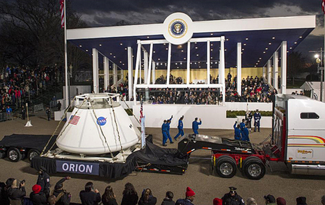 Photo: Orion Capsule in the Inaugural Parade | SpaceRef - Your Space Reference | Planets, Stars, rockets and Space | Scoop.it