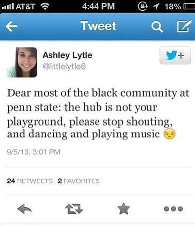 #thehubisnotaplayground Hits Penn State After Offensive Tweet | geography | Scoop.it