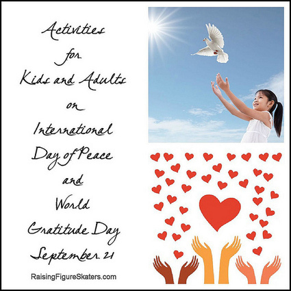 Activities for Kids and Adults on International Day of Peace and World Gratitude Day | Preschool Montessori Education | Scoop.it