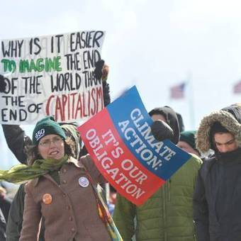 Tens of thousands demand action on climate change | Climate change challenges | Scoop.it
