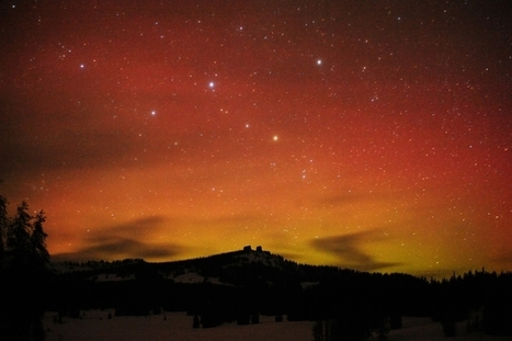 Aurora plus comet: Double delight in the skies above | Real Estate Plus+ Daily News | Scoop.it