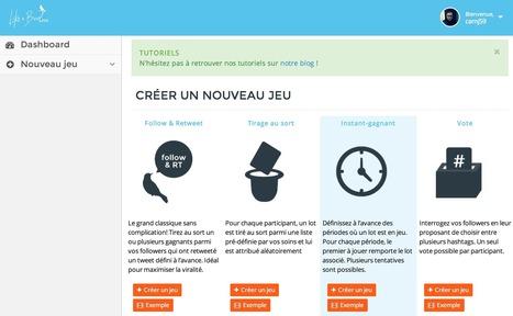 Outil : organisez un jeu concours sur Twitter avec Like A Bird Apps | Time to Learn | Scoop.it