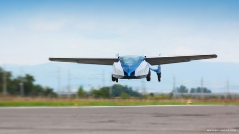Aeromobil : Un nouveau prototype de voiture volante développé en Slovaquie - CitizenPost   innovation  idées start up   Scoop.it