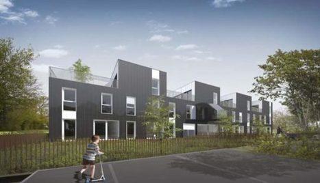 Près de Rennes, 40 containers maritimes transformés en logements sociaux - Logement | Veille en Habitat-immobilier | Scoop.it