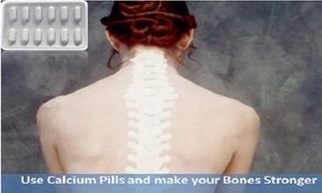 Use Calcium pills and improve your Bone's health | Health | Scoop.it
