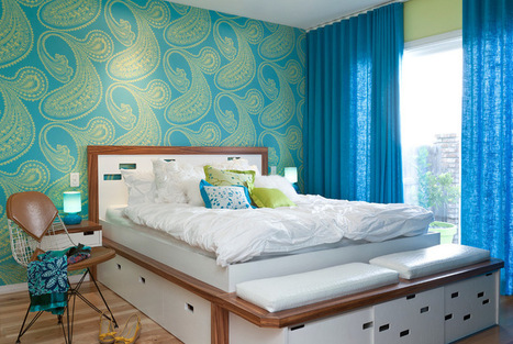 Pattern Primer: How to Pair Different Prints   Designing Interiors   Scoop.it